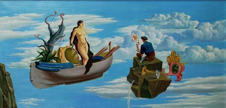 Анжель Планельс-и-Круаньяс, «Тоскующий моряк» (1962) Древняя культура Ампурданской долины, ееСальвадор Дали и художники Ампурдана в Государственном Эрмитаже