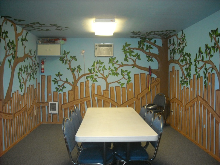 Classroom Decoration Ideas Fort Worth ~ Best daycare wall painting images on pinterest child
