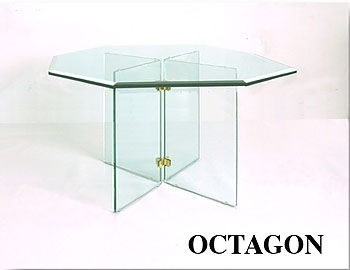 Exceptional Octagon Glass Table Tops