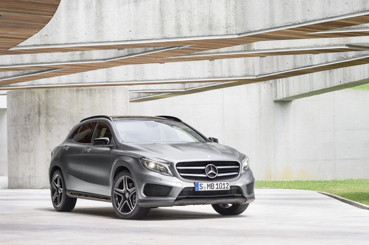 Another exterior shot of the 2015 Mercedes-Benz GLA. Enter for a chance to win here: www.ktla.com/GLA.