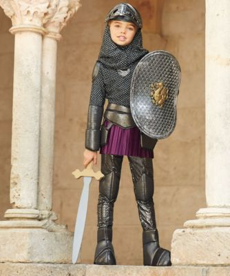 joan of arc girls costume - Only at Chasing Fireflies - As brave Joan, teenage warrior in medieval France, you're ready for battle.