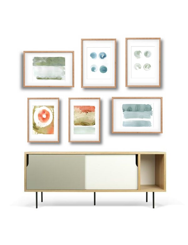 White canva Gallery wall