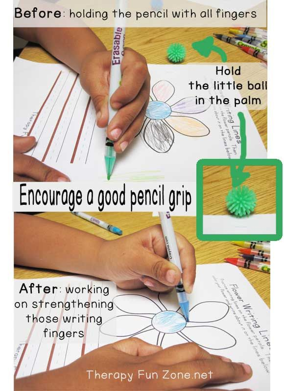 best way to hold a pencil for good handwriting alphabet