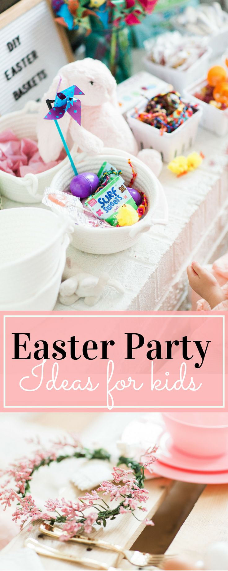 Looking for the sweetest Easter party for your little ones this Spring? This Some Bunny Loves You kids picnic Easter party has it all! | glitterinc.com | @glitterinc