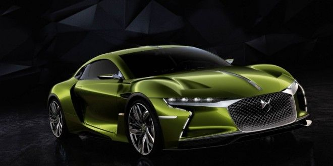 The 420-hp DS E-Tense Concept Revealed Ahead of Geneva Motor Show