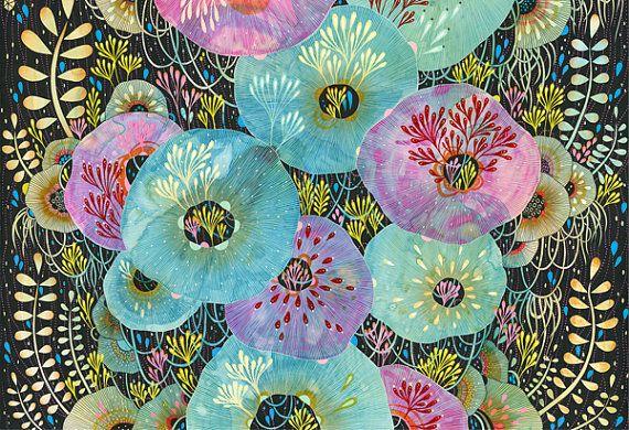 Fine Art Print  Instill  12x18 Print by yellena on Etsy, $58.00