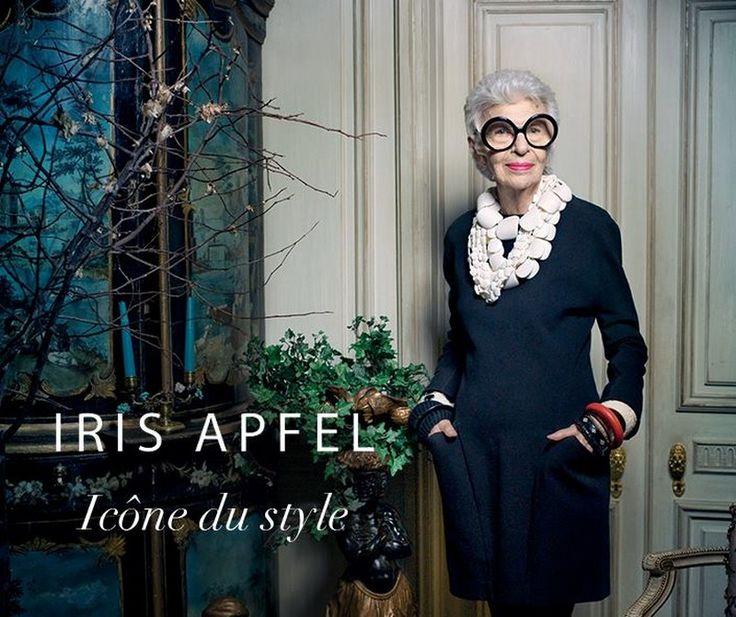 DS3 - Iris Apfel campagne