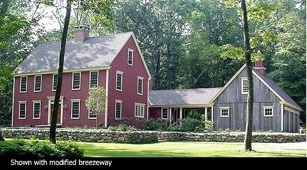 Traditional home designs classic colonial dreaming for Saltbox colonial house plans