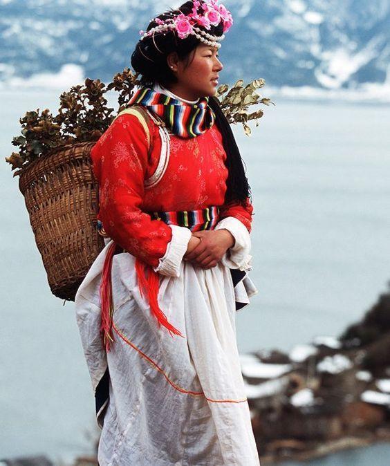 Tribu chinoise des Moso