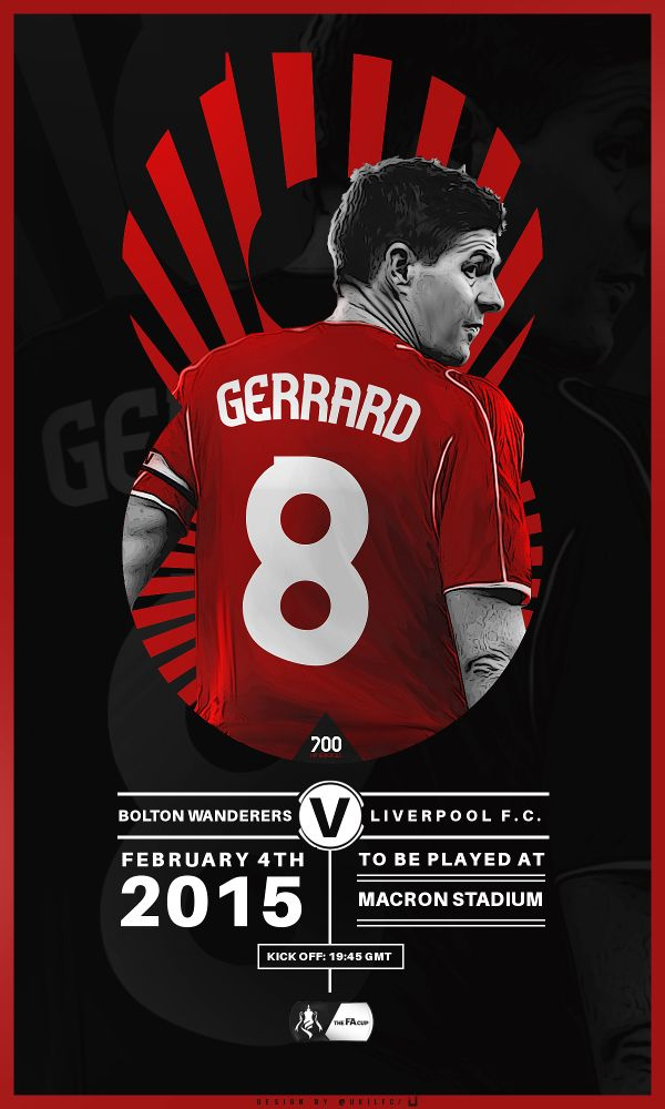 FA Cup v Bolton Replay Stevie G's 700th match for LFC
