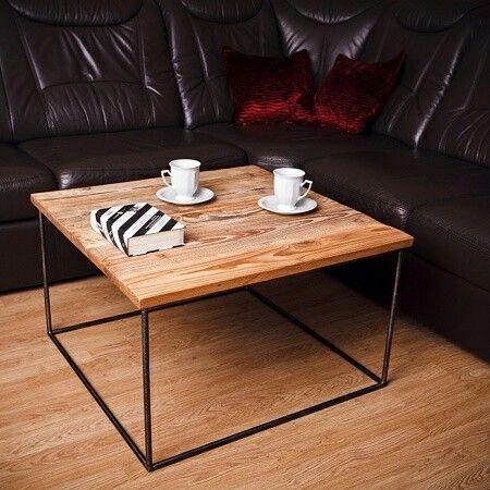 Stolik kawowy z oryginalnego drewna