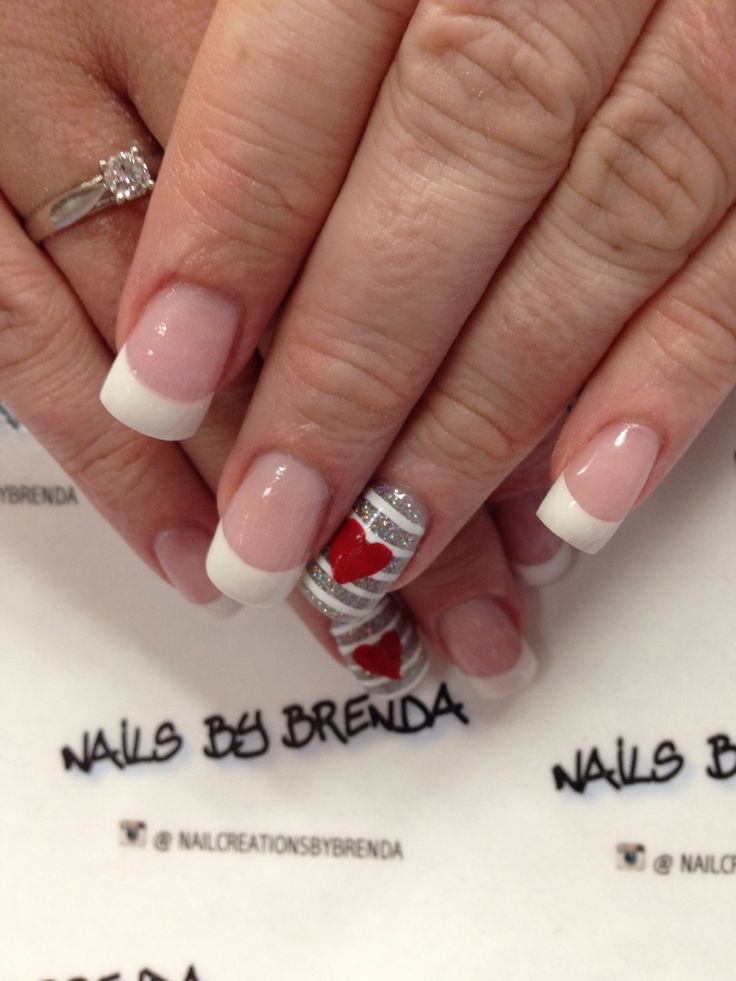 112 best Valintine Nails images on Pinterest