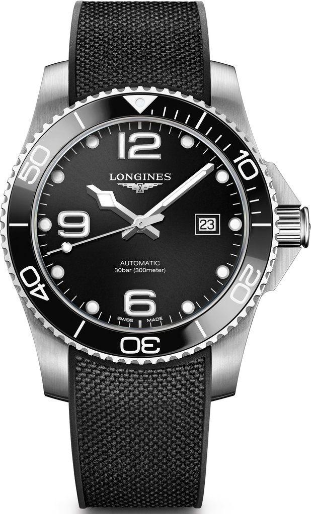 da95b9db3 Longlines HydroConquest | Bracelets in 2019 | Longines hydroconquest,  Watches, Longines watch men