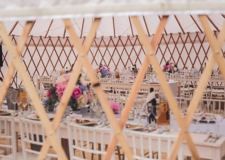Wedding in yurt Dorota i Michał