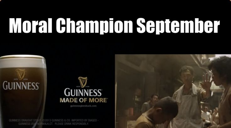 Moral Marketing Champion Of The Month – September 2013