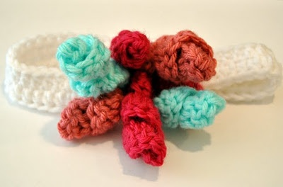 Curlicue Crochet Korker Bow and Headband pattern - found it!