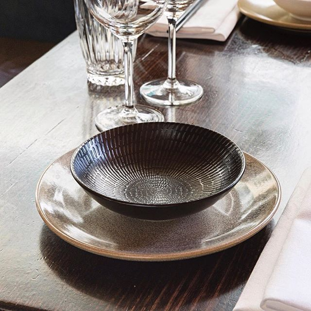 Plates and settings start clean and beautiful, the perfect place for a Sunday Lunch. We are ready and waiting for our first customers of the day... #chinadiner #bondi #marimekko #lunch #bondifoodie #bondidrinks #bondibeachsydney #bondibar #plates #glassware #sydneybar #sydneydrinks #sydneyfoodie #sydneyyumcha #yumcha #sunday #sundaysession