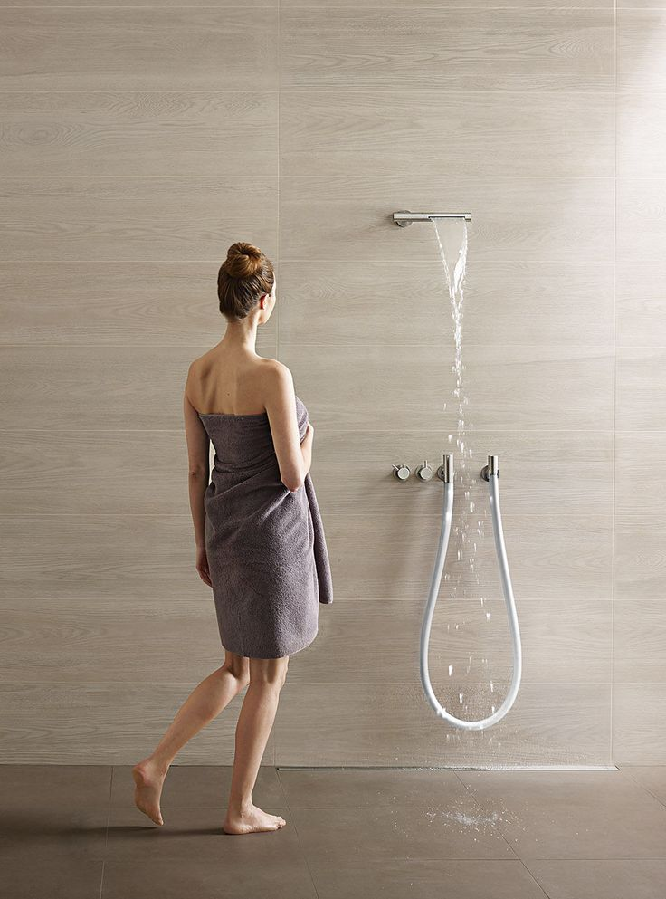 Wall-mounted shower set / contemporary / with fixed shower head / with hose COMBI-32 VOLA