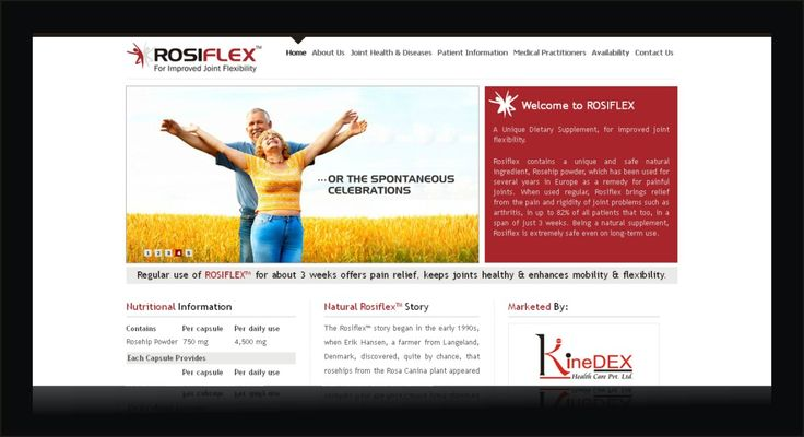 ROSIFLEX - for improved joint flexibility by  Kinedex Healthcare Pvt. Ltd. is a dynamic Indian Pharmaceutical Organisation.