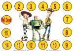 Free printable Toy Story Reward Charts for kids. Hundreds of other printable reward charts on this site.
