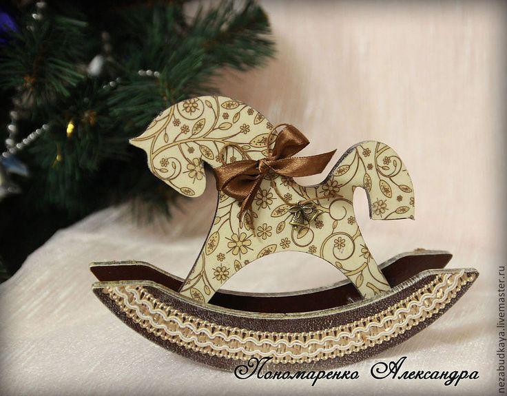 Купить Лошадки-качалки - лошадка, лошадка-качалка, лошадка сувенир, лошадка деревянная, лошадка качалка