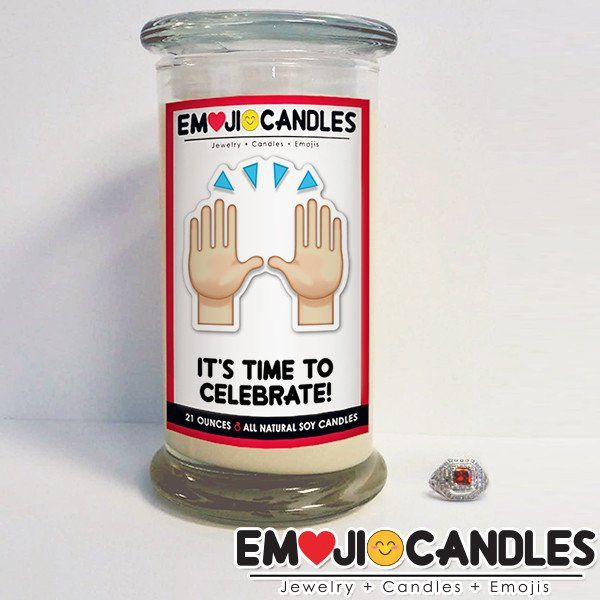 It's Time To Celebrate! - Emoji Candles. Add a little fun & personal touch to your gift.. with an Emoji Candle! Yes, the Emojis everyone loves now has a candle that will make everyone smile!