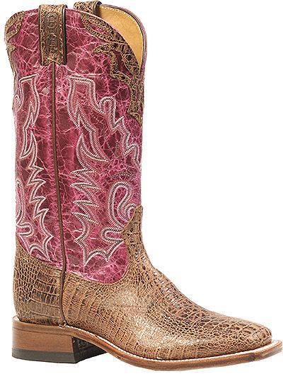 Boulet Women's 13 Inch Exotic Western Boot Style: BT-3205