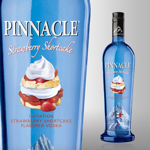 Pinnacle Strawberry Shortcake Vodka is delicious