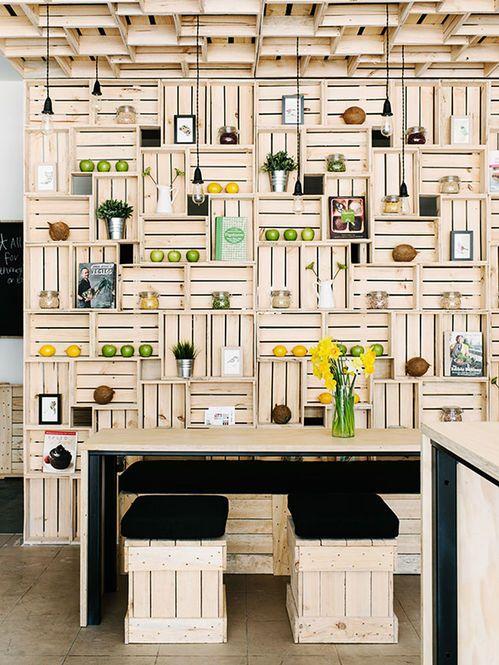 Restaurante Pressed Juices Designer: EVERY multi-disciplinary design studio