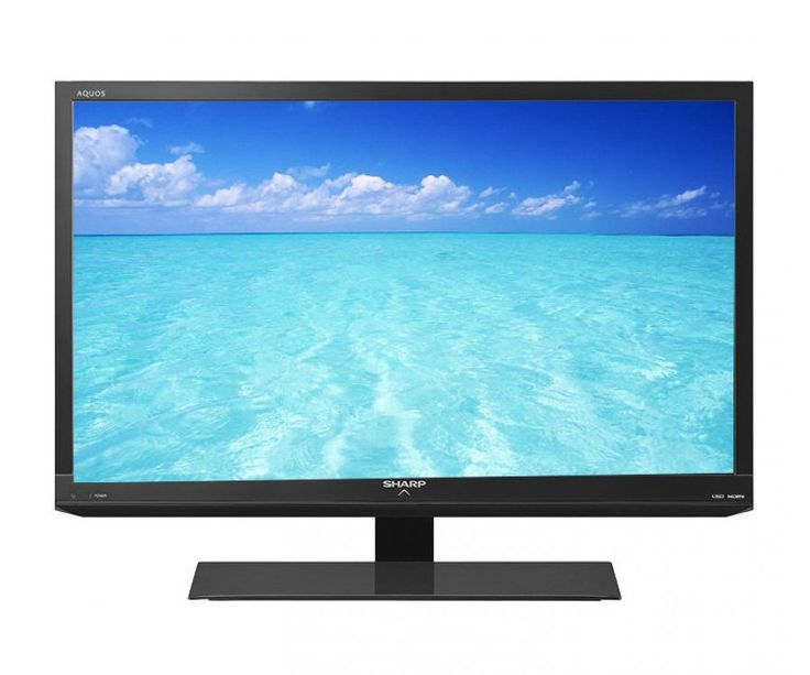 """Sharp 32"""" LED TV Black AQUOS LC-32LE150M. Enjoy watching your favorite movie or show with this LED TV, feature wide screen, that make you can watch your favorite anywhere in the room, this tv feature HDMI terminal that enable to connect your video game console and other AV Equipment. http://www.zocko.com/z/JI05D"""