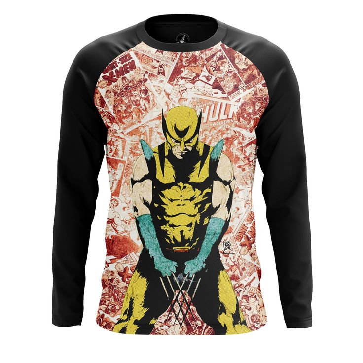 Awesome Mens Longsleeve Wolverine 2 Logan Xmen 2 – Search tags: