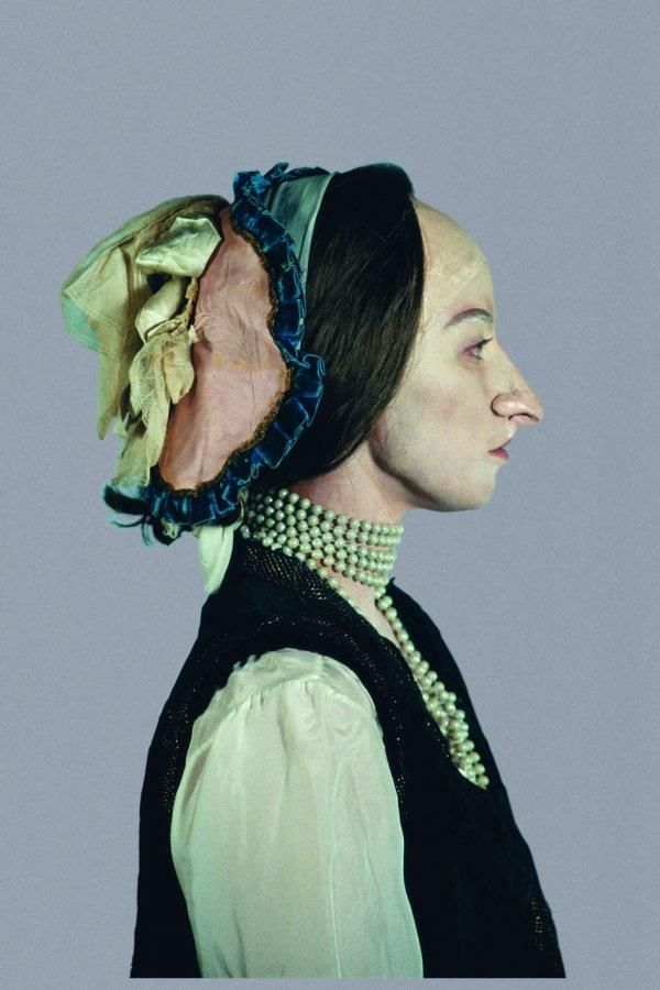Cindy Sherman - Cindy Sherman uses a variety of disguises and costumes to hide her true identity and take on other roles