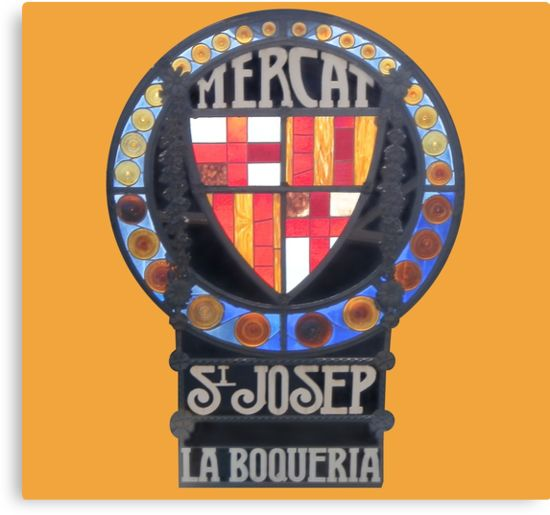St Josep Mercat - Barcelona, Spain by Elle Fennah