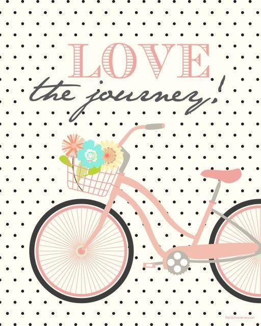 Love the Journey free printable
