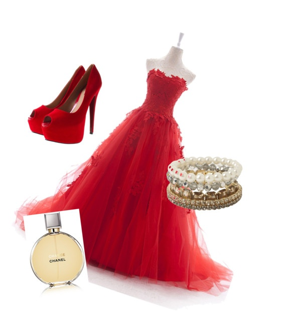 """""""Fancy in Red"""" by parisdancergirl ❤ liked on Polyvore"""