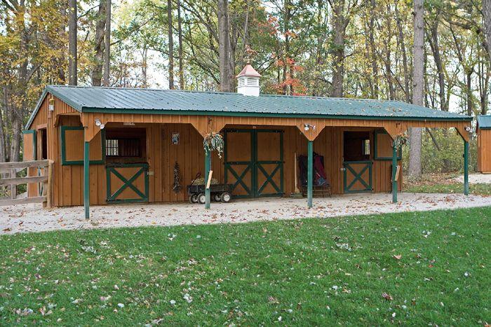 So cute...: Amish Garage, Farms Barns, Small Barns, Barns Thoughts, Amish Built, Built Garage, Utility Building, Google Search, Horses Barns