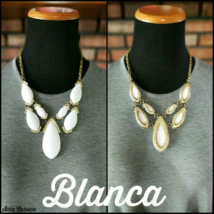 Blanca necklace. Premier Designs Jewelry. Saracarrico.mypremierdesigns.com #pdstyle #premiereveryday