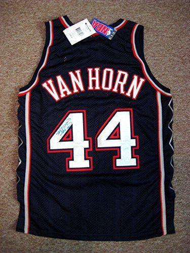 Van Horn, Keith autographed NJ Nets Authentic Jersey