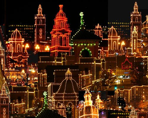 The Plaza Christmas lights, Kansas City, MO