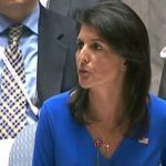 Nikki Haley just double-dog dared the United Nations. The U.S. Ambassador to the United Nations reminded members of the UN Security Council that the days