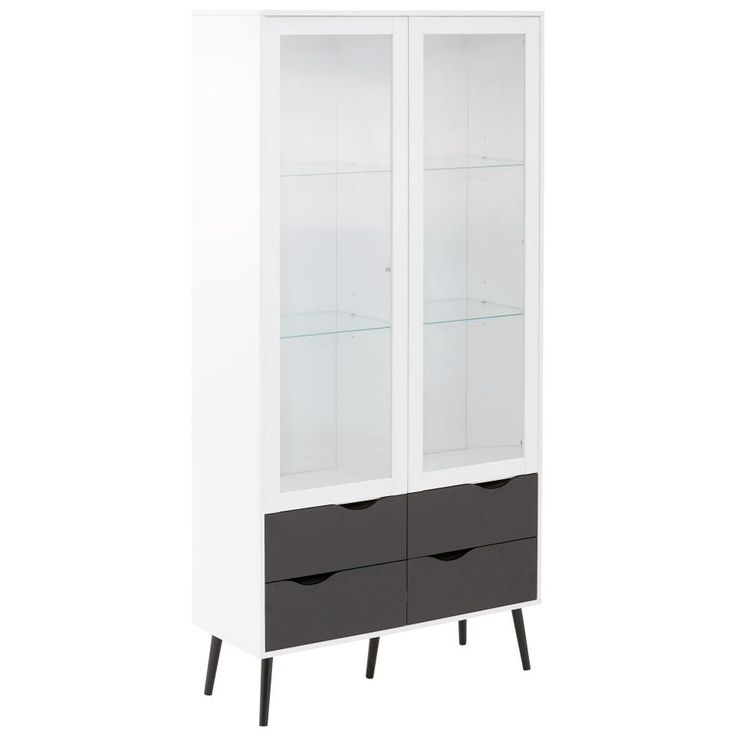 die besten 25 vitrine wei ideen auf pinterest schrank mit glast ren vitrinenschrank wei. Black Bedroom Furniture Sets. Home Design Ideas