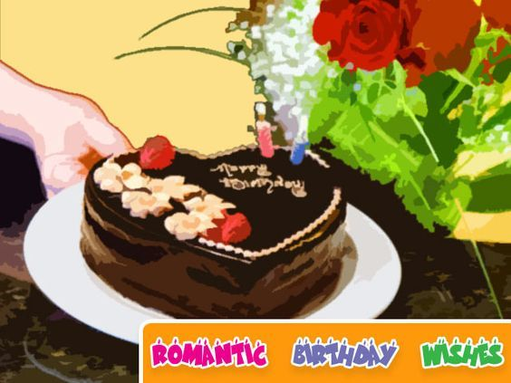 Enviando românticos desejos do aniversário: