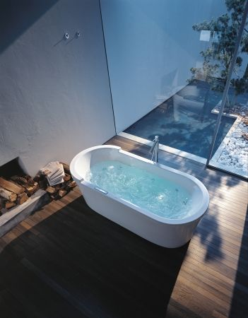 Duravit - Freistehende Badewannen, Whirlwannen und Duschwannen von Philippe Starck..going to design the bathroom around this