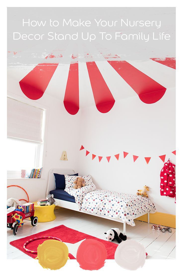 Make your nursery stand up to family life with new Dulux Easycare.