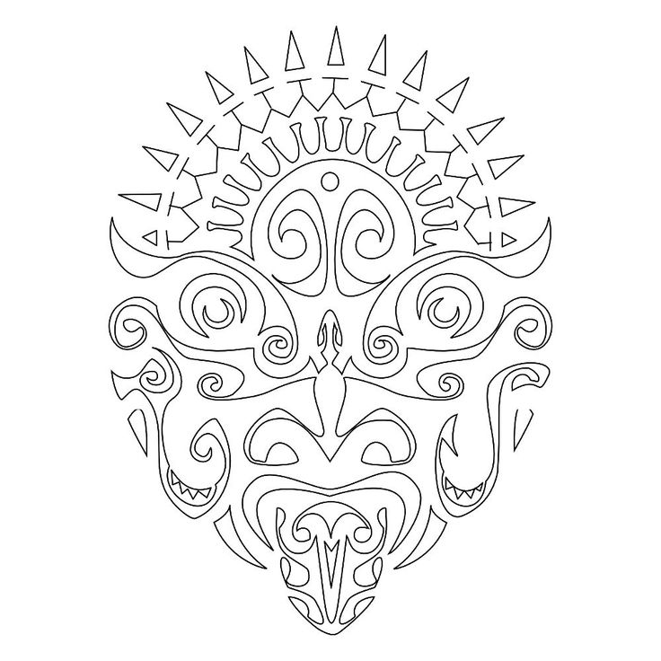 Maori Tattoo Stencil Designs: 1233 Best Images About Maori & Polynesian On Pinterest