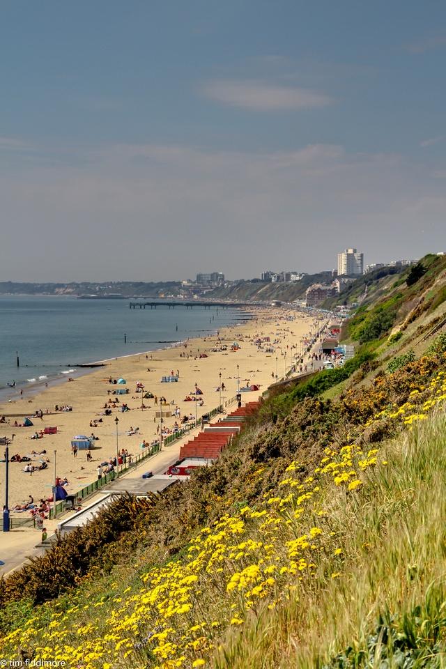 Southbourne beach, Bournemouth my childhood
