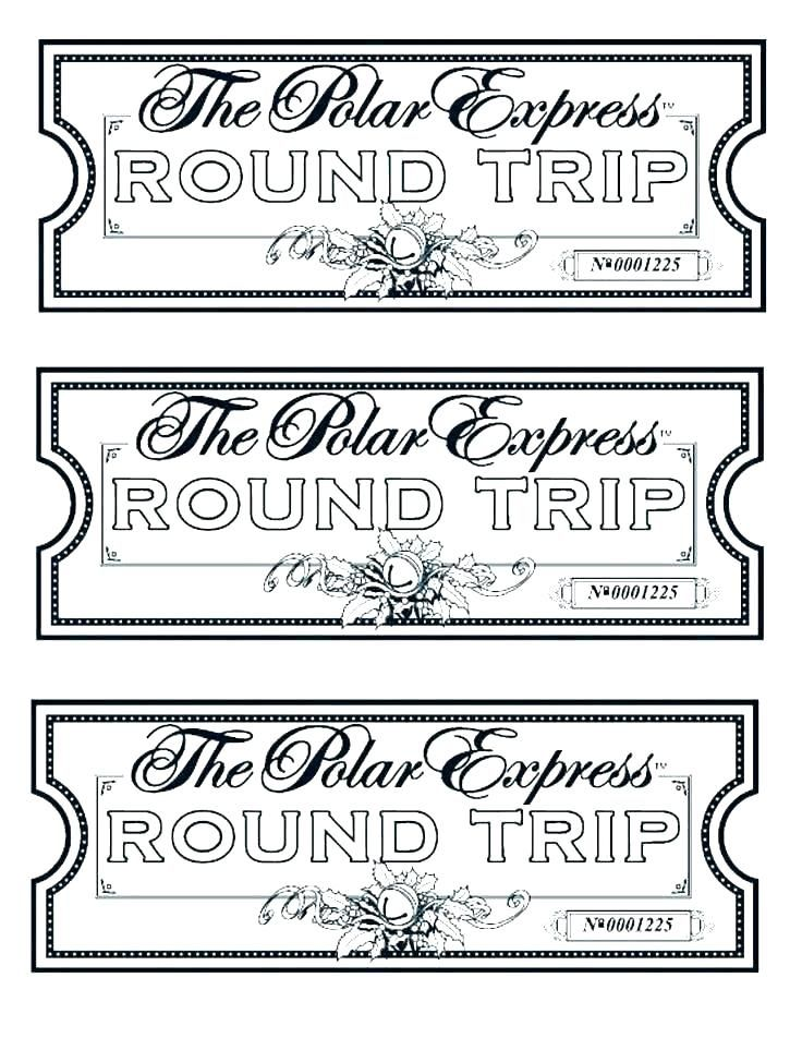 Polar Express Coloring Pages Polar Express Tickets Polar