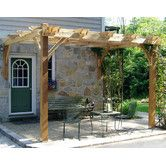 Found it at Wayfair - Breeze Attached 9ft. H x 12ft. W x 12ft. D Pergola