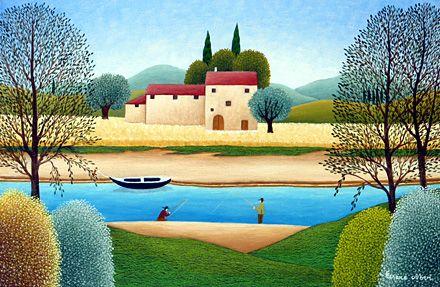 The Two Fishermen by Cesare Novi