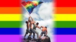 Resultado de imagen para como hacer  la bandera  gay  en tela